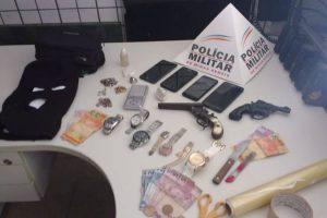 Manhuaçu: PM soluciona roubo e recupera material levado