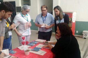 Hospital César Leite promoveu ações do Junho Vermelho