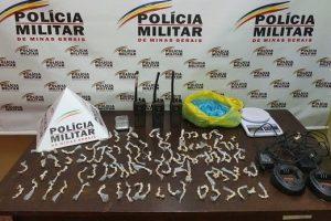 Santa Bárbara: Polícia Militar apreende 500 pedras de crack