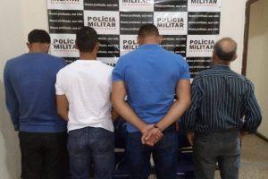 Cinco prisões em Chalé pela Polícia Civil