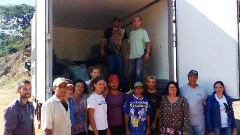 Prefeitura de Manhuaçu distribui mais alimentos do PAA para entidades