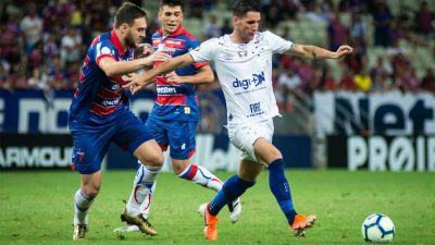 Cruzeiro perde para o Fortaleza e pode passar Copa América no Z4