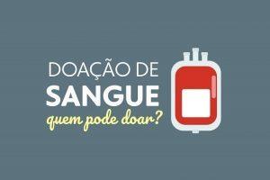14 de junho: No dia mundial do doador de sangue conheça os critérios para doar