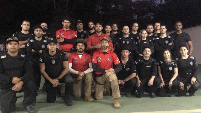 Policiais Civis de Manhuaçu participam de treinamento de operador de pistola e fuzil