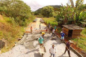 Prefeitura de Manhuaçu calça subida da Pedra Furada