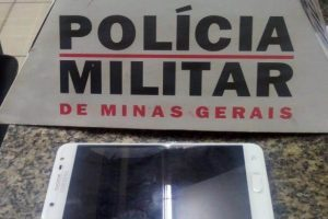 Manhuaçu: PM recupera telefone e alerta para cuidados com aparelhoso Alfa Sul