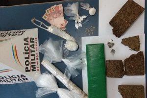 Drogas e menores apreendidos no bairro Matinha