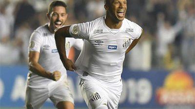 Atlético perde para o Santos: 3 a 1