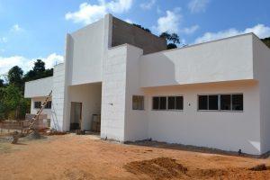 UBS de Santo Amaro de Minas chega à fase final de construção