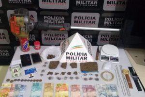 Manhumirim: Casal preso acusado de tráfico de drogas e receptação