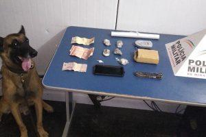 PM prende autor de tráfico de drogas no bairro Matinha