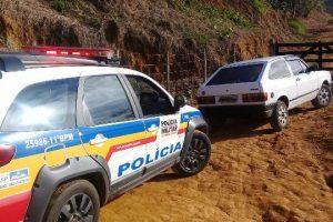 Manhuaçu: Carro furtado na Olímpio Vargas é localizado no Luciano Heringer