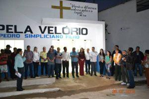 Prefeitura de Manhuaçu entrega a Capela Velório de Vilanova