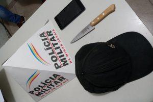 Manhuaçu: Antes mesmo de ser acionada, PM prende autores de roubo