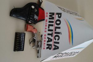 Luisburgo: PM apreende arma de fogo