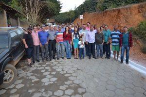 Prefeitura entrega 220 metros de calçamento no Córrego Bem Posta