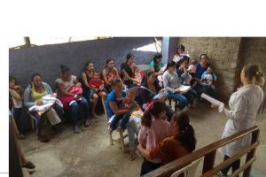 """ESF's continuam com as ações para as mamães no mês """"dourado"""""""