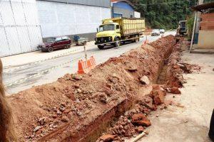 SAAE inicia construção de rede de água na MG-111 em Manhuaçu