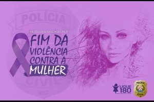 Campanha Agosto Lilás é desenvolvida pela PC. Presos acusados de violência contra a mulher