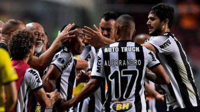 Sul-americana: Atlético vence de 2 a 1