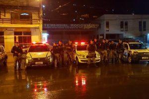 Polícia Militar realiza Operação Cavalo de Aço