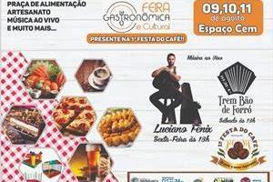 Manhuaçu: Feira Gastronômica será no CEM; Sábado tem a Festa do Café