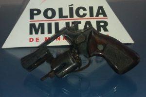 Rio Casca: Polícia Militar apreende arma de fogo