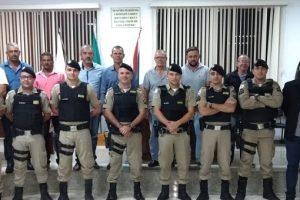 PM recebe Moção de Aplausos em Santana do Manhuaçu