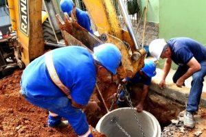 Rede inativa é ligada novamente para aumentar abastecimento no Bairro Petrina e região