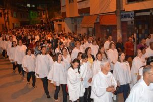 São Lourenço é celebrado com procissão, missa e show