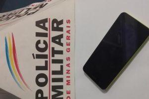 Manhuaçu: PM apreende menor e recupera celular roubado