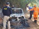 Manhuaçu: Corpo é encontrado carbonizado em Uno incendiado em Realeza