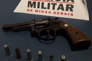 Manhuaçu: Arma de fogo é apreendida pela PM