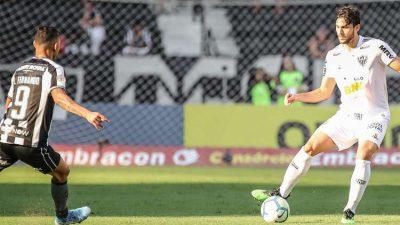 Atlético sofre 4ª derrota seguida: 2 a 1 para o Botafogo