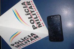 Manhuaçu: PM apreende menor e aparelho celular receptado