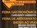 Feira Gastronômica nesta sexta em São Pedro do Avaí