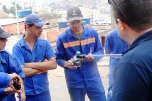 SAAE oferece curso sobre perdas de água e utilização de geofone para funcionários