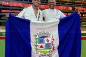 Manhuaçuense é prata na segunda etapa do Circuito Vale do Aço de Judô