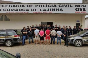 Polícia Civil realiza diversas prisões em Lajinha