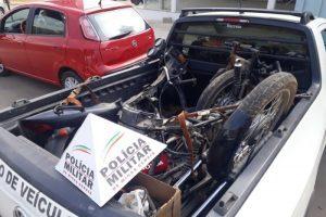 Manhuaçu: PM recupera moto furtada no Bairro São Vicente