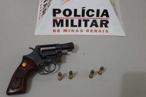 Sericita: PM apreende arma de fogo no córrego Santana