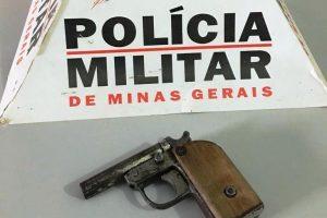 Simonésia: PM retira mais uma arma de fogo de circulação
