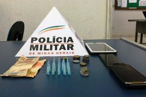 São José do Mantimento: PM prende traficante