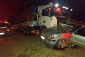 Manhuaçu: Dois jovens morrem em grave acidente na BR-116