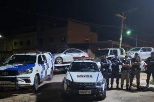 Lajinha: PM localiza duas Hilux e um Cruze roubados no ES