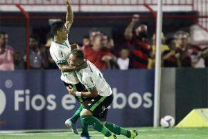 América arranca empate com Atlético-GO