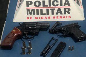 Manhuaçu: Armas e munições tiradas de circulação