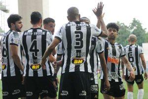 Atlético volta a vencer no Brasileirão: 2 a 0 no Santos