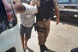 Região: Homem é detido suspeito de assediar sexualmente adolescente de 14 anos