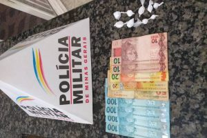 Matipó: PM apreende autor por tráfico ilícito de drogas